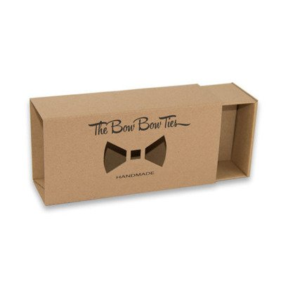 Wooden bow tie #32
